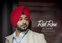NEW RELEASE: G.SIDHU – RED ROSE
