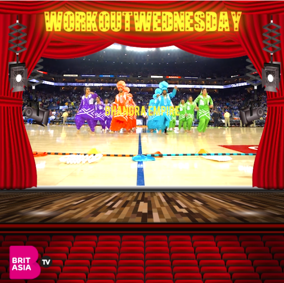 #WORKOUTWEDNESDAY WITH BHANGRA EMPIRE