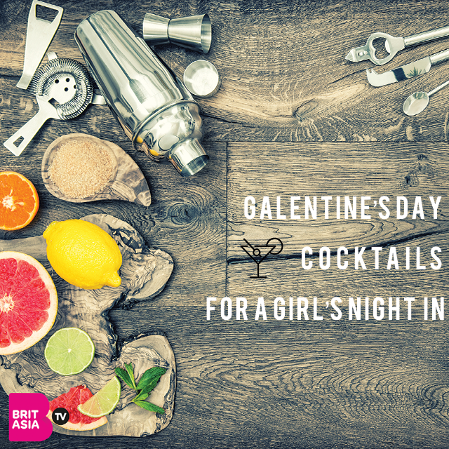 GALENTINE'S DAY COCKTAILS FOR A GIRL'S NIGHT IN