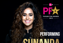 SUNANDA SHARMA TO PERFORM AT BRITASIA TV'S PUNJABI FILM AWARDS 2018