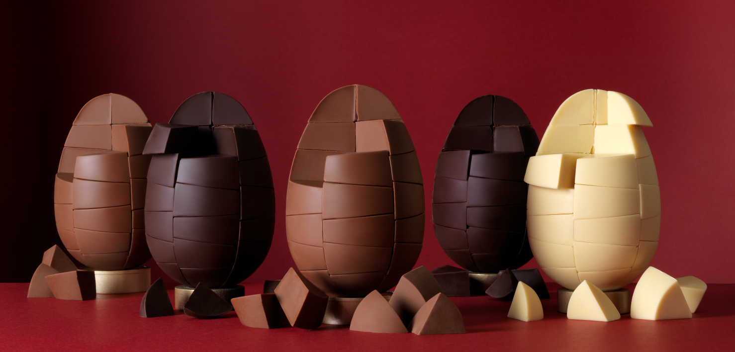 The Solid Chocolate Company Original Chocolate Eggs