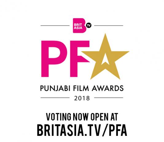BRITASIA TV TO HOLD UK'S FIRST PUNJABI FILM AWARDS 2018