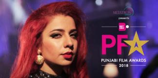 JASMINE SANDLAS TO HOST PUNJABI FILM AWARDS 2018
