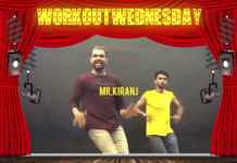 #WORKOUTWEDNESDAY WITH MR. KIRANJ