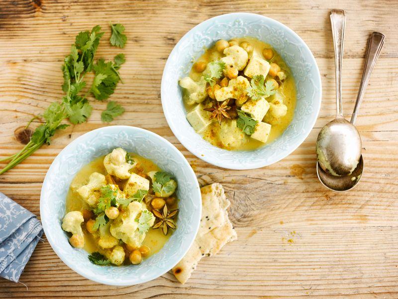 Cauliflower Coconut Curry