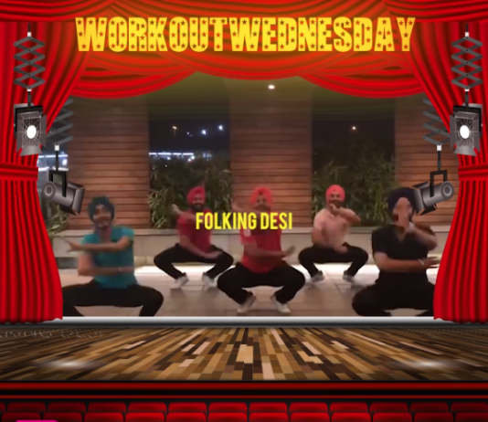 #WORKOUTWEDNESDAY WITH FOLKING DESI