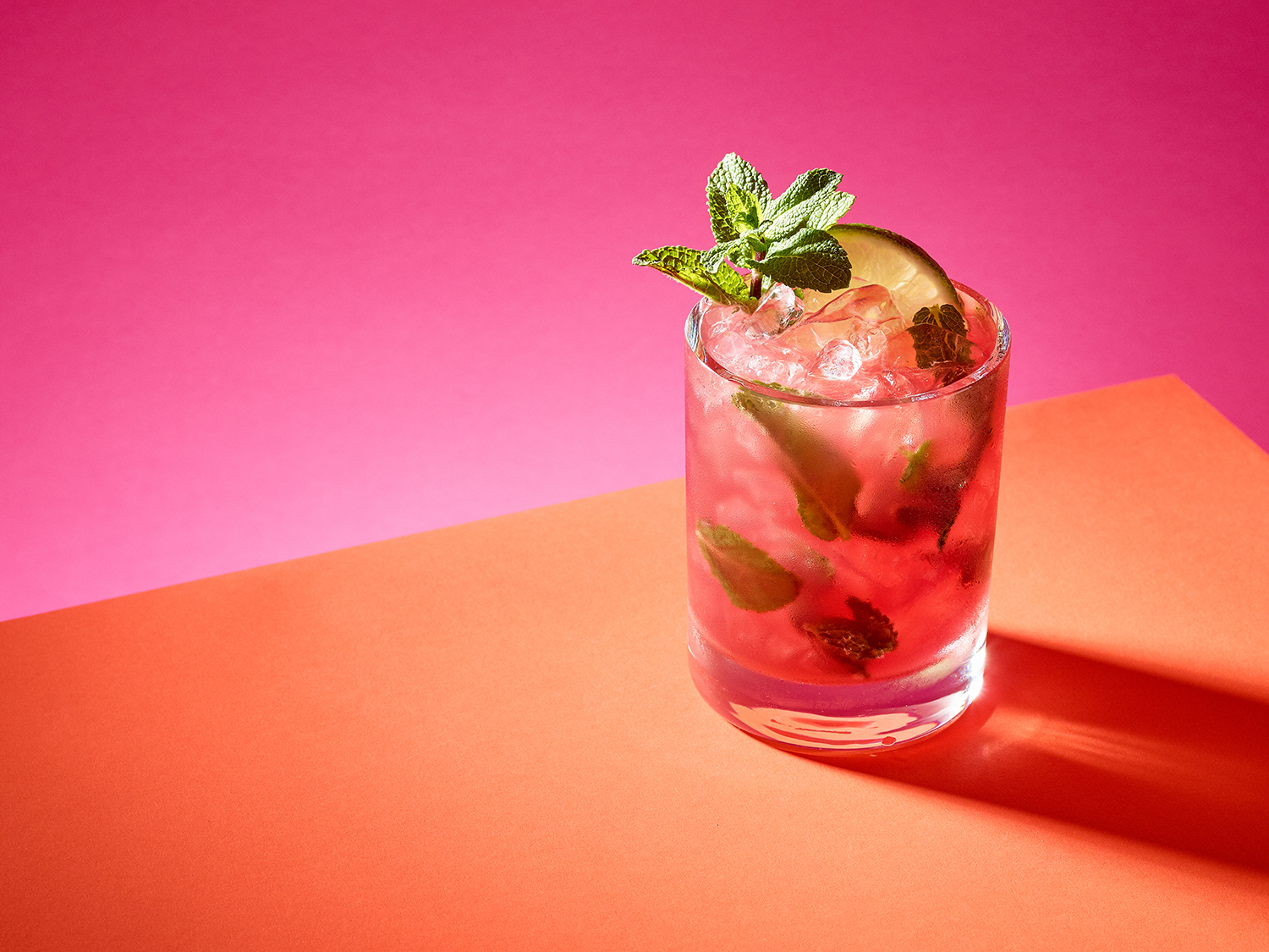 The Blackcurrant Mojito
