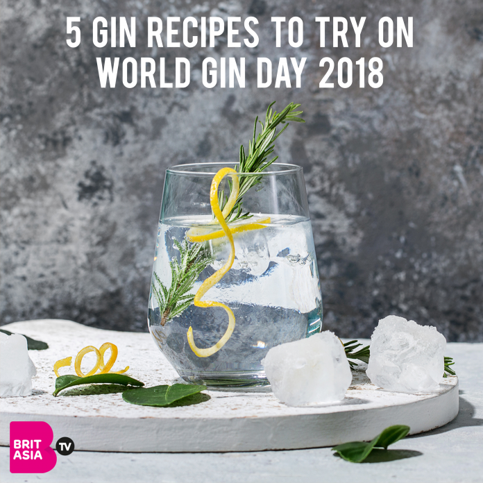 5 GIN RECIPES TO TRY ON WORLD GIN DAY 2018