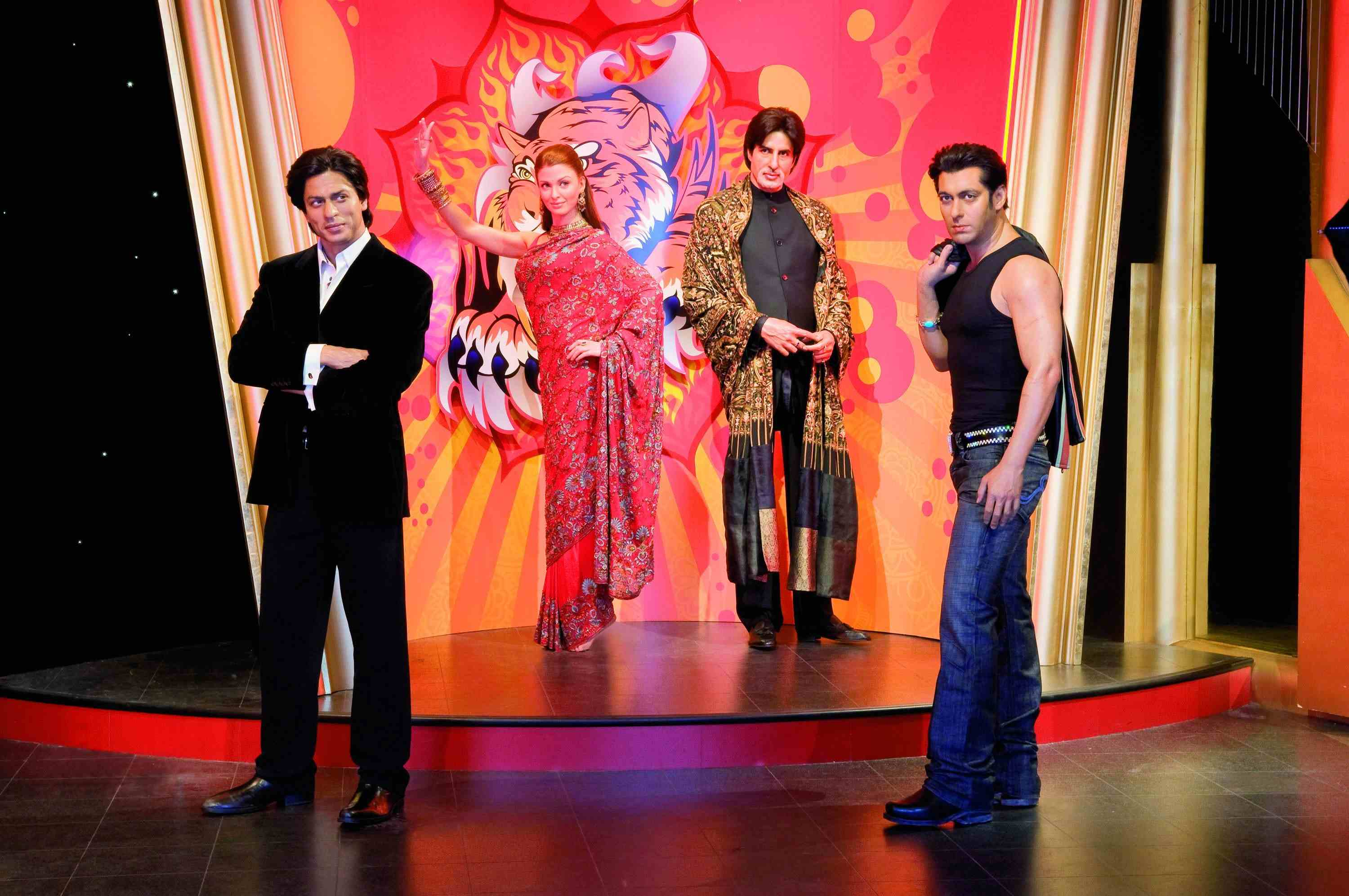 Bollywood stars at Madame Tussauds London