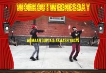 #WORKOUTWEDNESDAY WITH ARMAAN GUPTA & AKAASH YADAV