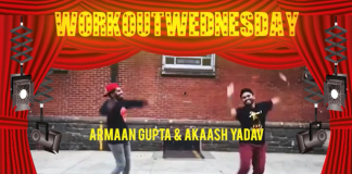 #WORKOUTWEDNESDAY WITH ARMAAN GUPTA & AKAASH YADAV