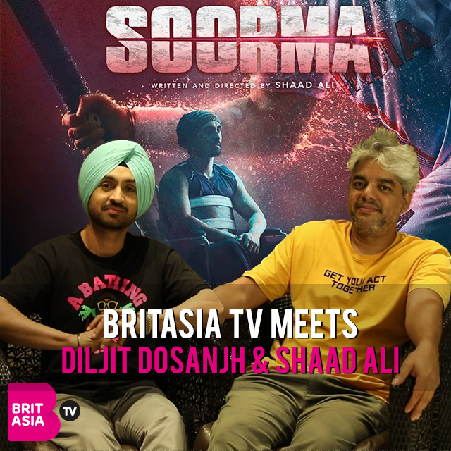 BRITASIA TV MEETS DILJIT DOSANJH AND SHAAD ALI