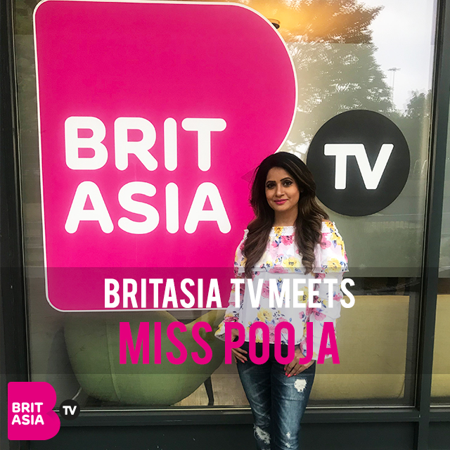 BRITASIA TV MEETS MISS POOJA