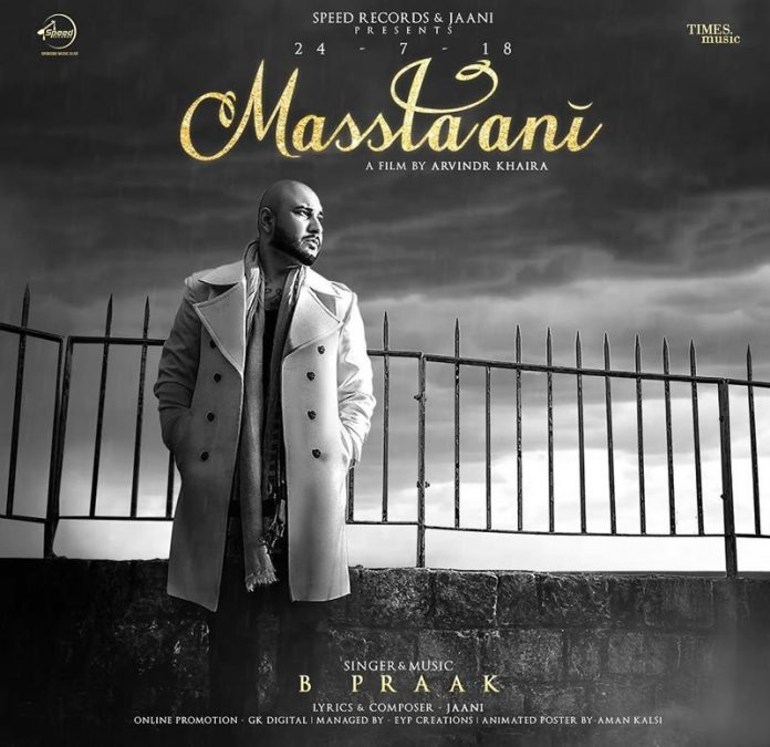 NEW RELEASE: B PRAAK - MASSTAANI