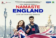 ARJUN KAPOOR AND PARINEETI CHOPRA SHARE THE POSTER FOR 'NAMASTE ENGLAND'
