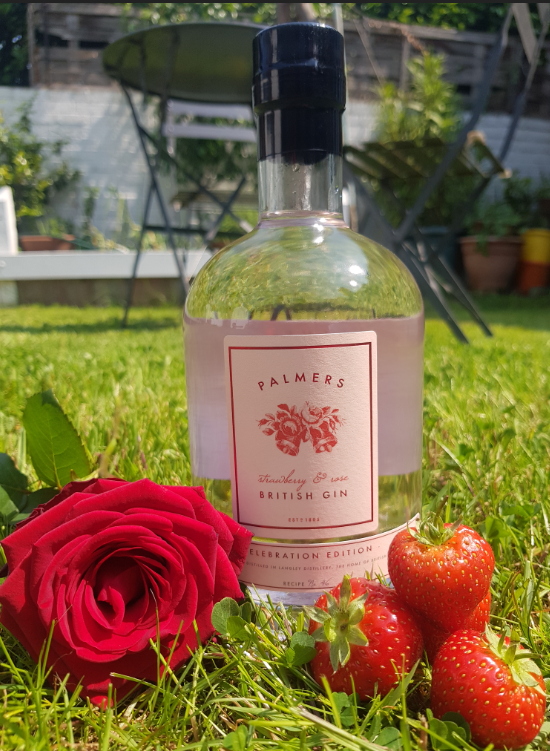 Strawberry & Rose Gin