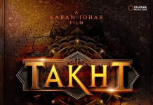 KARAN JOHAR REVEALS UPCOMING PROJECT 'TAKHT'