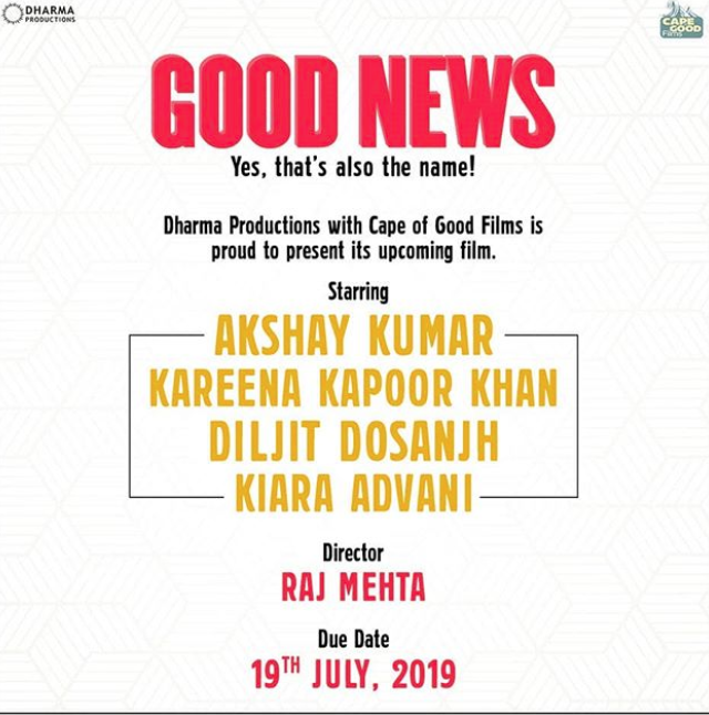 DILJIT DOSANJH TO STAR ALONGISDE AKSHAY KUMAR AND KAREENA KAPOOR KHAN IN 'GOOD NEWS'