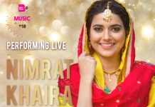 NIMRAT KHAIRA TO PERFORM AT THE BRITASIA TV MUSIC AWARDS 2018