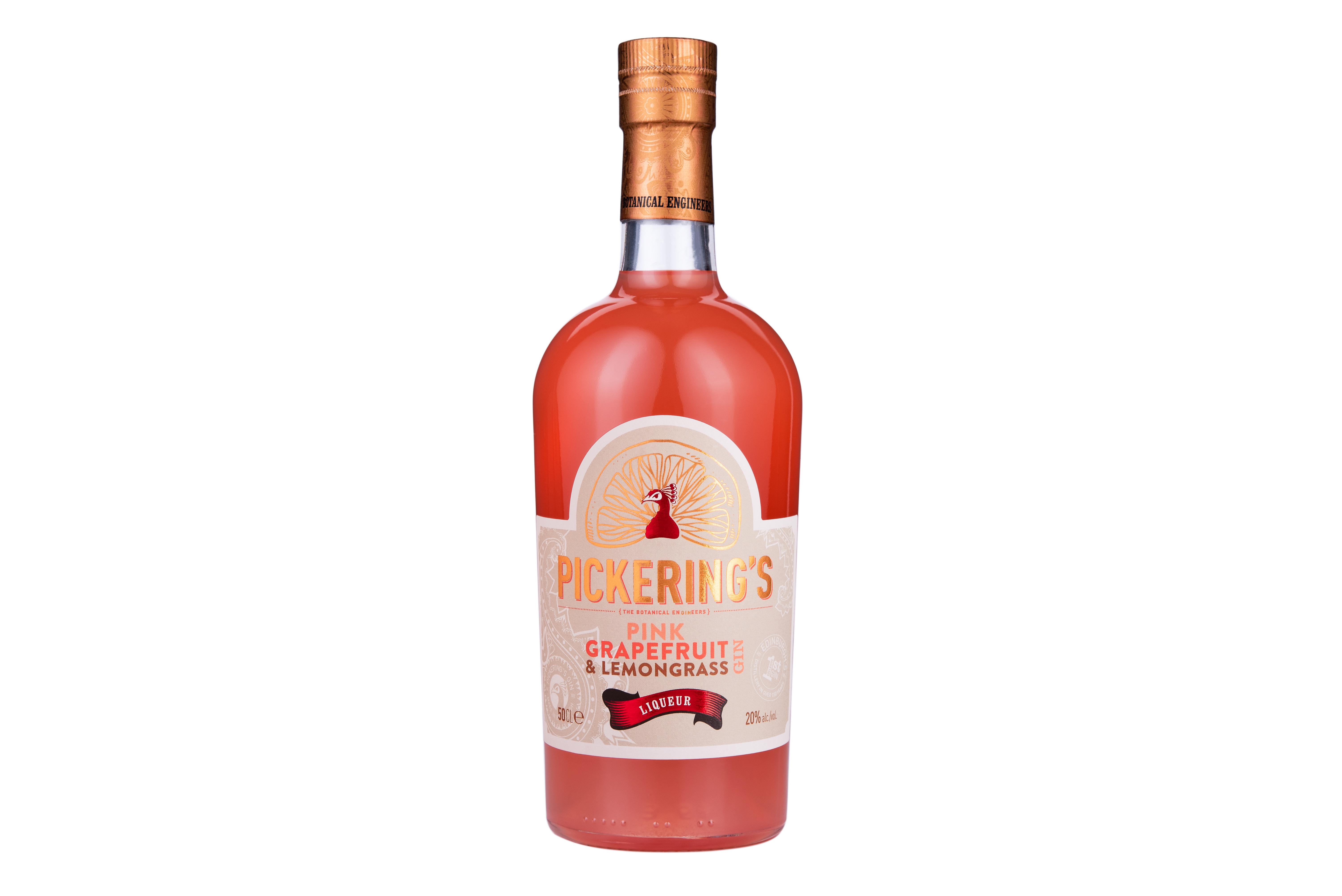 Pink Grapefruit & Lemongrass Gin Liqueur