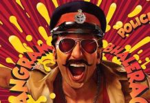 RANVEER SINGH SHARES TEASER FOR UPCOMING MOVIE 'SIMMBA'