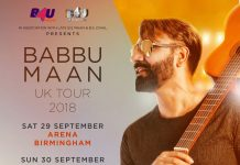 BABBU MAAN SET TO TOUR THE UK