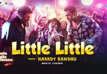 HARRDY SANDHU HAS SINGS 'LITTLE LITTLE' FOR THE BOLLYWOOD MOVIE 'YAMLA PAGLA DEEWANA'