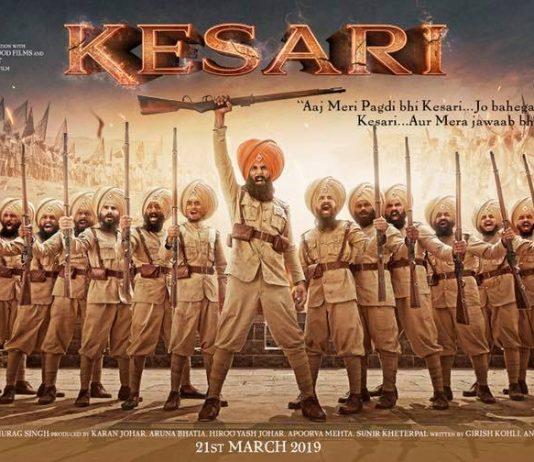 AKSHAY KUMAR UNVEILS POSTER FOR UPCOMING MOVIE 'KESARI'