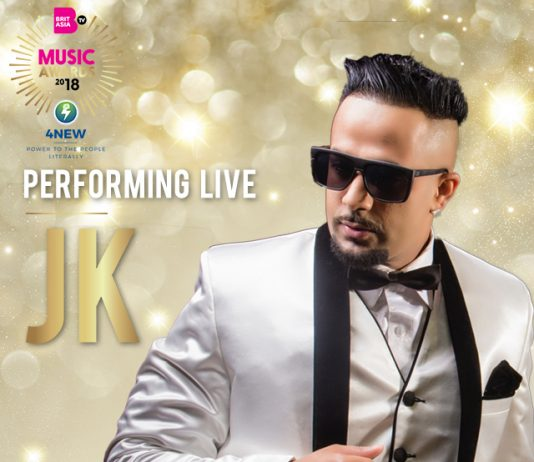 JK JOINS THE BRITASIA TV MUSIC AWARDS 2018 LINE UP