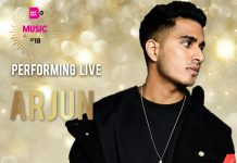 ARJUN TO PERFORM AT THE BRITASIA TV MUSIC AWARDS 2018