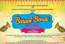 SHARRY MANN REVEALS POSTER FOR 'BARAAT BANDI'