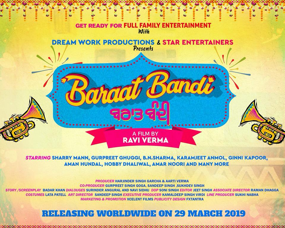 Baraat Bandi Cast Release Date Poster Trailor Story Income.