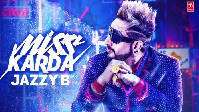 NEW RELEASE: JAZZY B – MISS KARDA