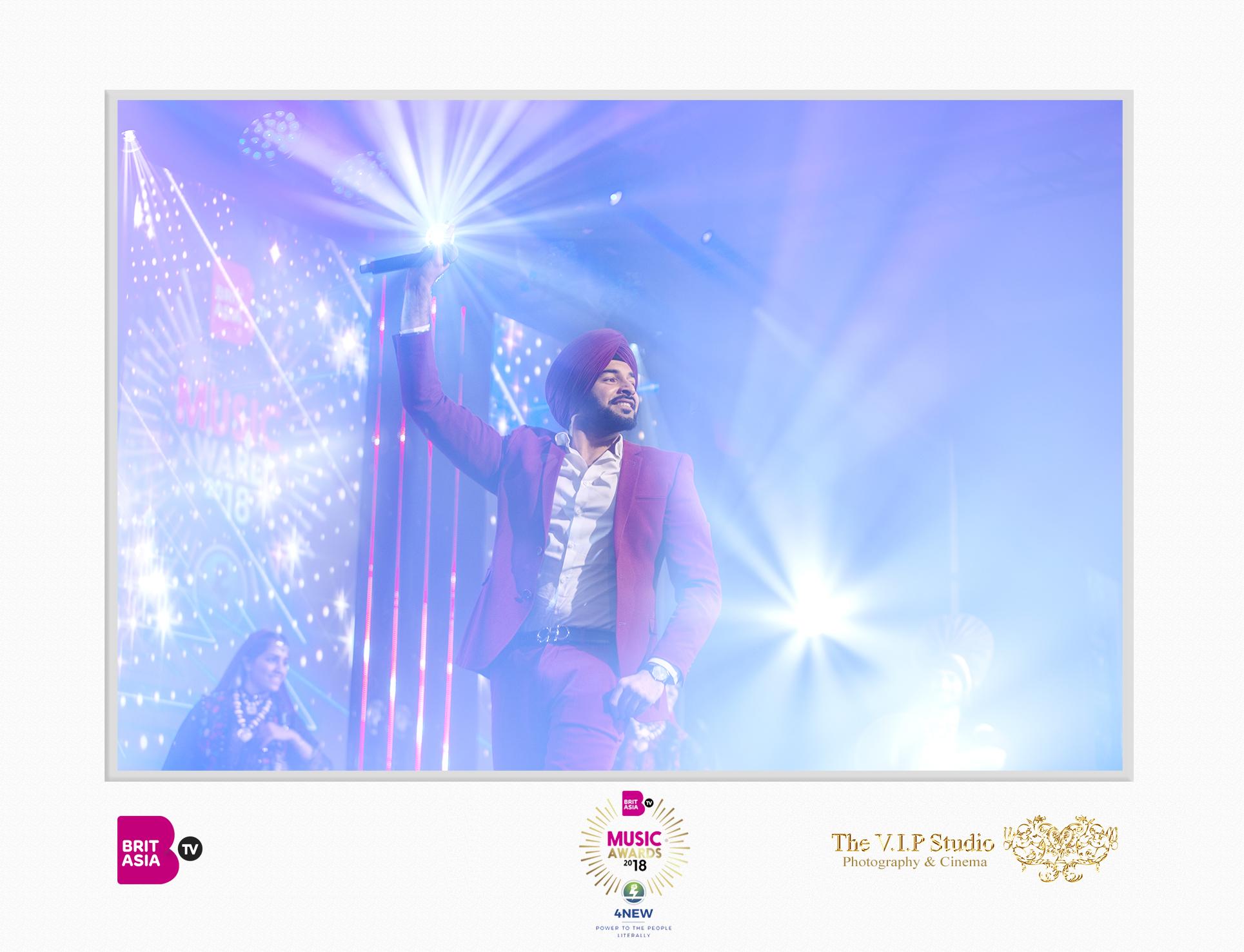The VIP Studio - BritAsia Music Awards - G Sidhu