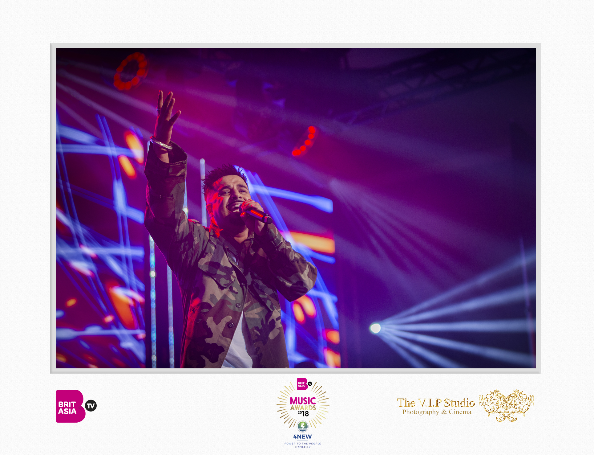 The VIP Studio - BritAsia Music Awards - JK