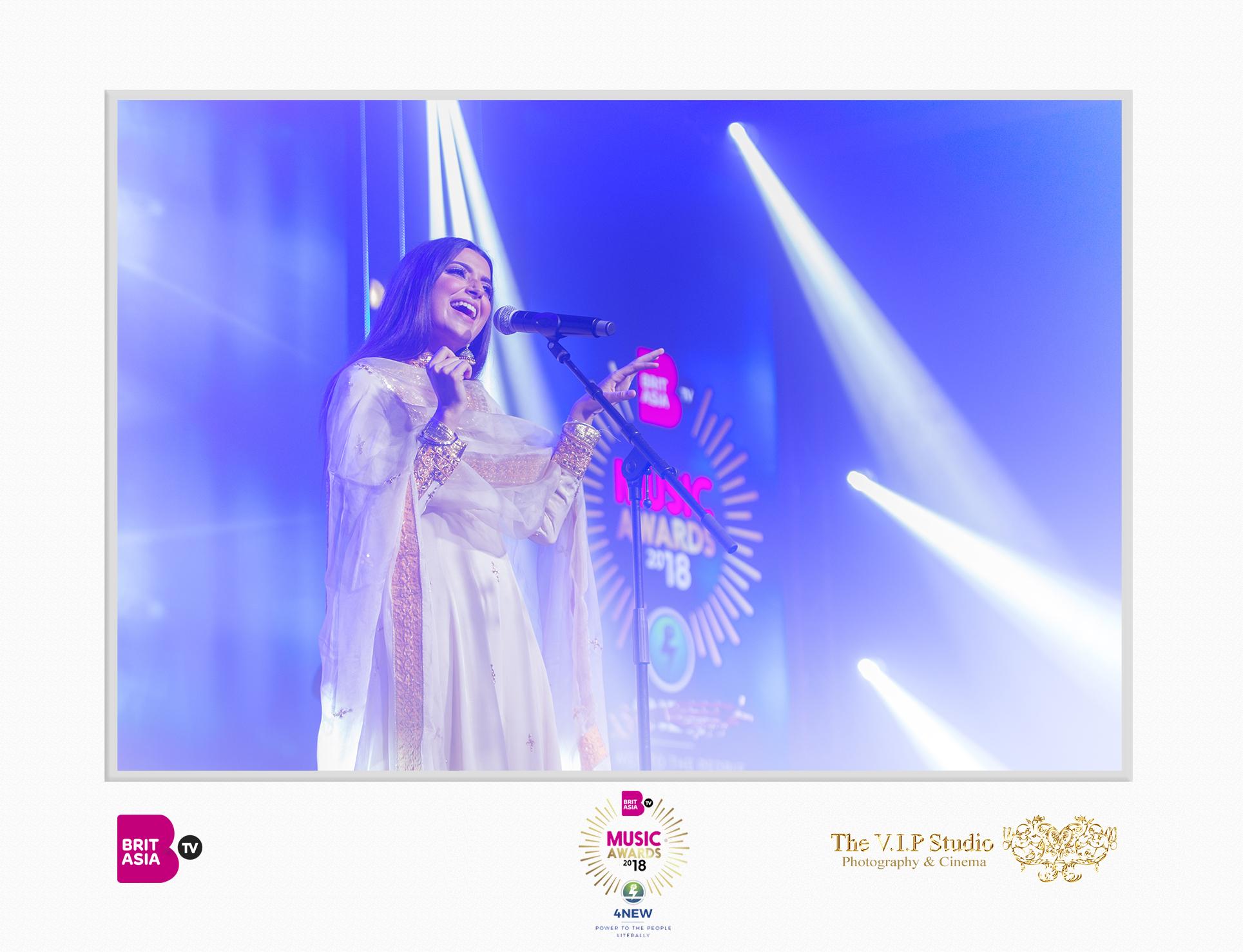 The VIP Studio - BritAsia Music Awards - Nimrat Khaira