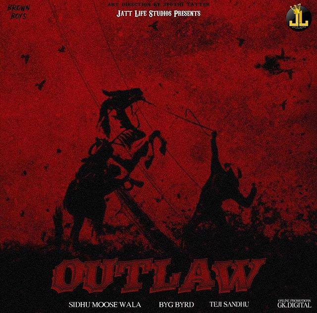 SIDHU MOOOSE WALA DROPS TEASER OF HIS UPCOMING TRACK 'OUTLAW'