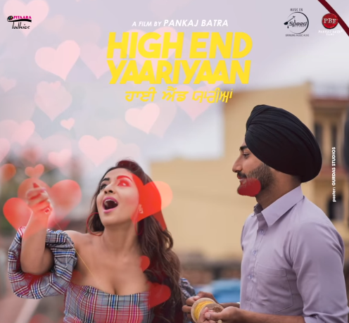 NEW RELEASE: RASIDAAN DIL DIYAAN FROM THE UPCOMNG MOVIE 'HIGH END YAARIAN'