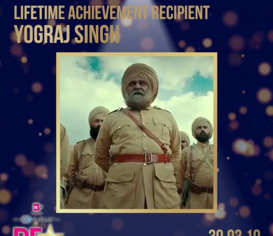 YOGRAJ SINGH TO BE HONOURED WITH 'LIFETIME ACHIEVEMENT' AWARD AT PUNJABI FILM AWARDS 2019
