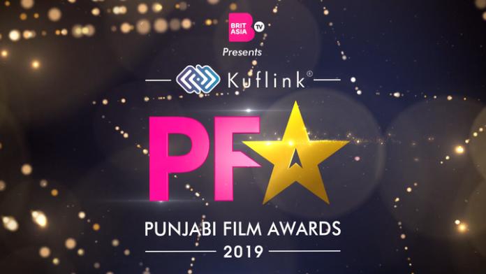 BRITASIA TV BRINGS PUNJABI FILM AWARDS 2019 TO LONDON