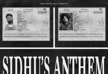 NEW RELEASE: SIDHU MOOSEWALA – SIDHU'S ANTHEM