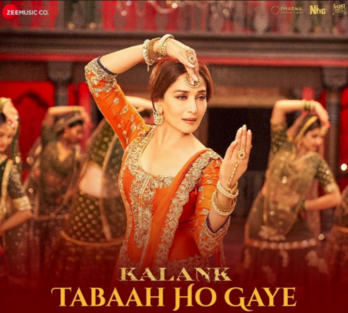 NEW RELEASES: TABAAH HO GAYE FROM THE UPCOMING MOVIE 'KALANK'