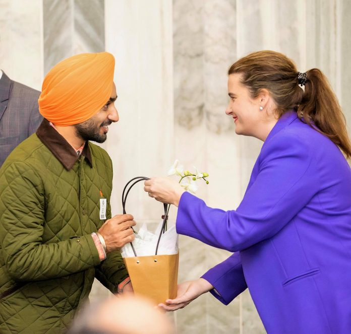 SATINDER SARTAAJ HONOURED BY NEW ZEALAND PARLIAMENT FOR HIS EXCELLENCE IN MUSIC