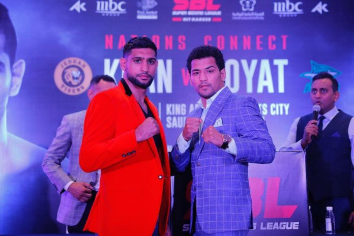 AMIR KHAN SET TO GO HEAD TO HEAD WITH INDIAN BOXER NEERAJ GOYAT