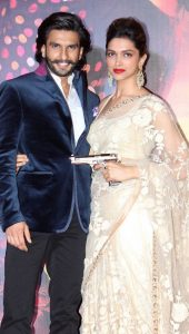 Deepika Padukone with co star