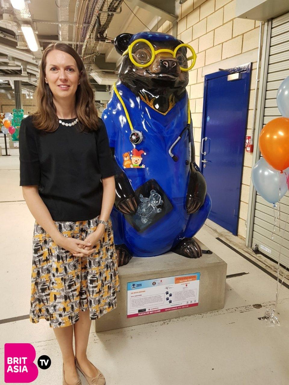 Sarah-Jane Marsh- CEO of Birmingham Children's Hospital