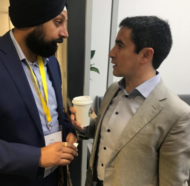 CEO Tony Shergill Meets Google UK MD Ronan Harris