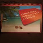 Caribbean invitation