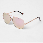rose gold sunglasses from River Island