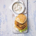 Chicken Bhaji Burger